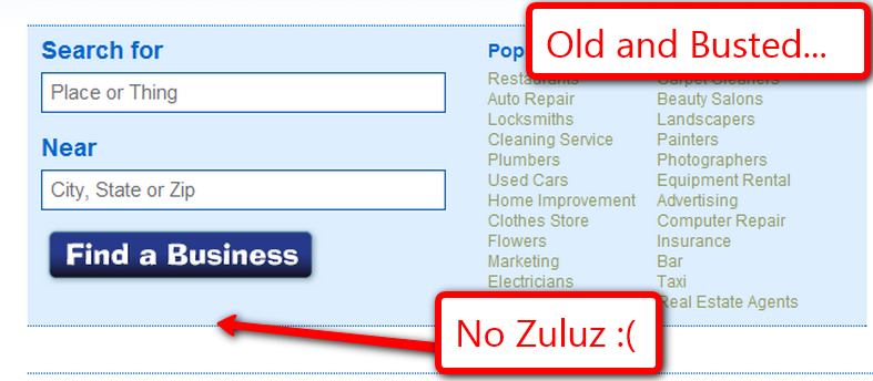 No Zuluz - Old and Busted