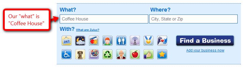 Zuluz search -- What?