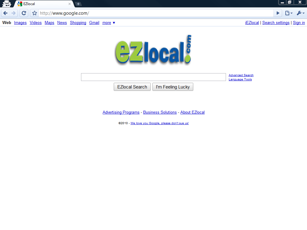 ezlocal google