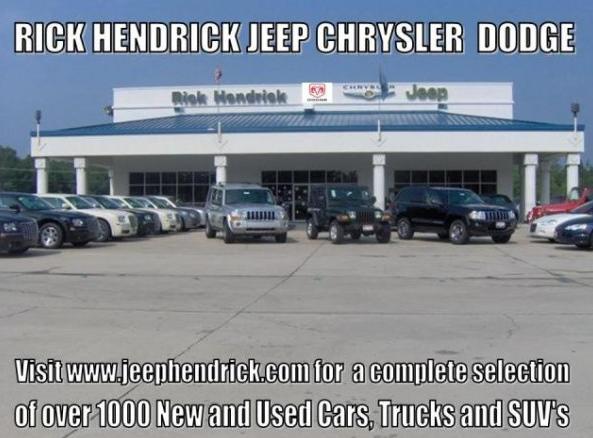 rick hendrick jeep chrysler dodge car dealer north charleston sc 29406. Black Bedroom Furniture Sets. Home Design Ideas