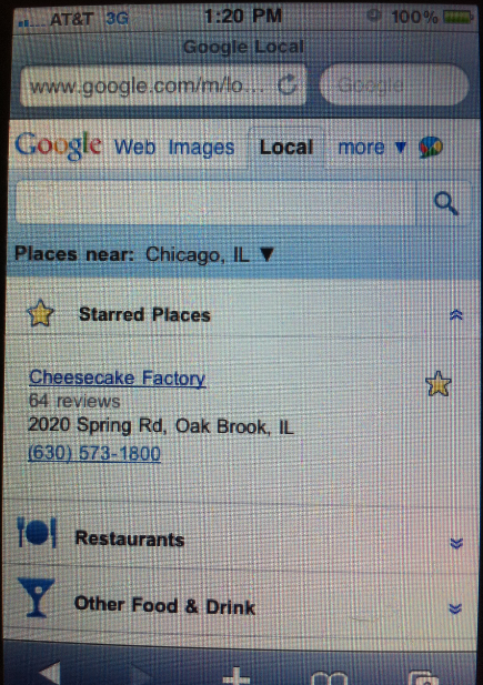 Google Local Stars