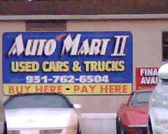 auto mart motors ii used car dealer lawrenceburg tn 38464 ezlocal com