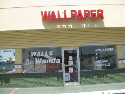Walls by wanda wallpaper store stuart fl 34994 for A touch of class pet salon