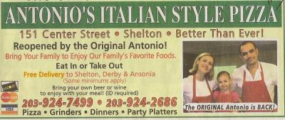 Antonio S Italian Style Pizza Pizza Delivery Shelton