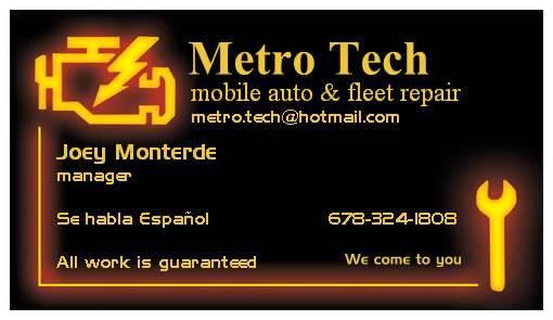 Atlanta S Mobile Mechanic We Come To You Auto Repair