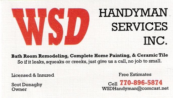 WSD Handyman Svc