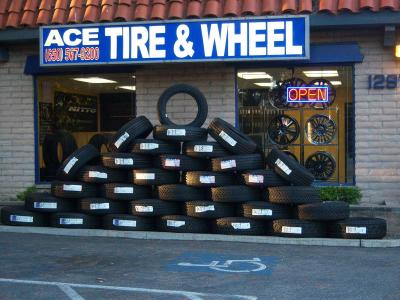 Local Tire Shops >> Tire Shop in Sunnyvale, CA 94087 - Ace Tire