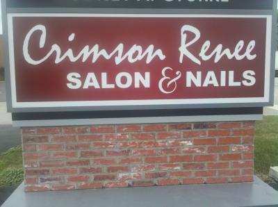 Crimson renee salon nails hair salon oregon oh 43616 for Renee hair salon