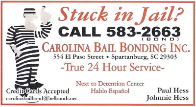 Bail Bonds Service Spartanburg