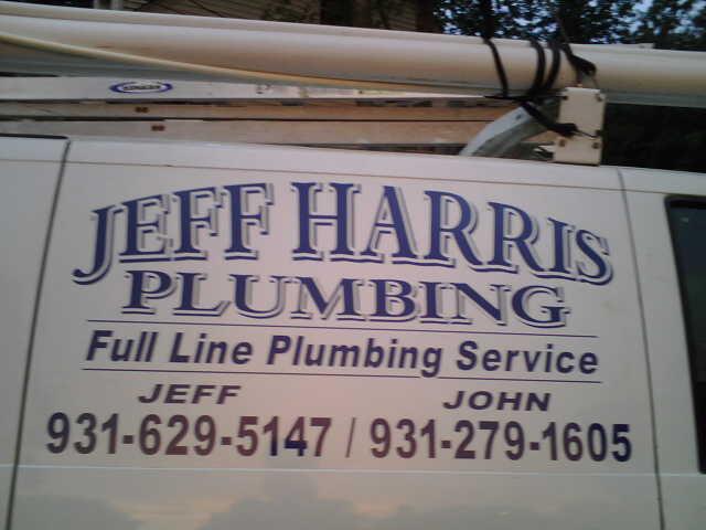 Jeff Harris Plumbing Plumber Lawrenceburg Tn 38464