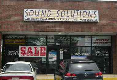 Auto Repair Greensboro on Sound Solutions   Car Audio Shop   Greensboro  Nc 27407